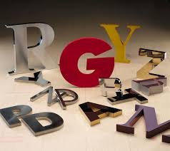 reverse channel letters metal channel letters fabricated metal