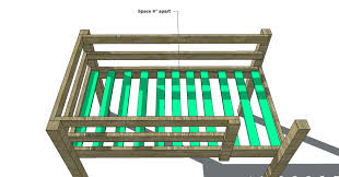Woodworking Plans For Beds Free by Free Woodworking Plans To Build A Full Sized Low Loft Bunk The