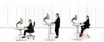 Standing Or Sitting Desk by Flexispot Height Adjustable Standing Desk U0026 Desktop Workstation