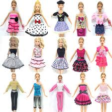 beautiful clothes nk 10 set lot mix style newest doll dress beautiful party clothes