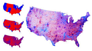 State Map Of The Us by Real Political Map Of The Us Shows We U0027re Not That Divided