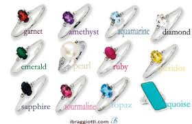 rings with birthstones jewels birthstone jewelry birthstone earrings birthstone rings