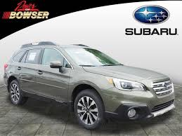 green subaru outback 2017 new subaru outback compared to ford edge u0026 toyota highlander