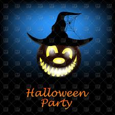 halloween party clipart halloween party poster vector image 110177 u2013 rfclipart