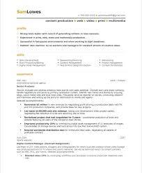modern resume template free documentary video video resumes sles film resume template best video resume