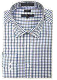 marquis signature collection french blue dress shirt hds
