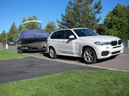 towing with bmw x5 35d towing impressions