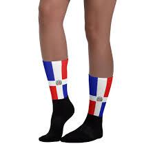 Dominican Republic Flags Dominican Republic Flag Black Foot Socks Properttees