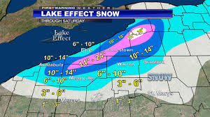 Erie Pennsylvania Map by Lake Effect Snow Continues Tonight And Through Friday 4 6