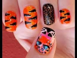 tiger nail design choice image nail art designs