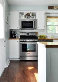 Microwave Kitchen Cabinet Best 25 Above Range Microwave Ideas Only On Pinterest Island