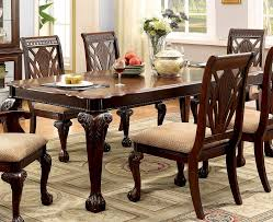 elegant but relaxed cherry wood dining table boundless table ideas