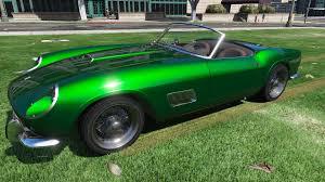 Ferrari California Green - 1957 ferrari 250 gt california spyder lwb gta5 mods com