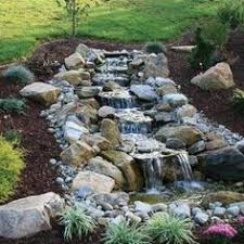 Backyard Waterfall Ideas by 35 Dreamy Garden With Backyard Waterfall Ideas Water Gardens