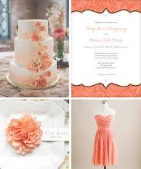 coral wedding cakes coral wedding design weddings
