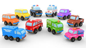 garbage trucks for kids surprise evil learn street vehicles for children tow truck fire truck