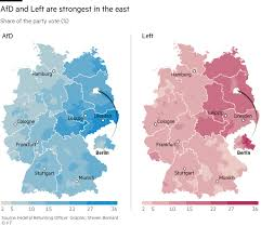 us area code from germany germany s election results in charts and maps