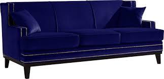Blue Modern Sofa Home Usa Modern Sofa Reviews Wayfair