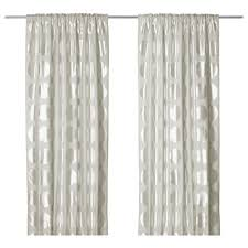 Ikea Beige Curtains Ninni Rund Curtains 1 Pair Curtains Ikea