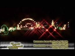 branson drive through christmas lights branson mo area festival of lights 2009 youtube