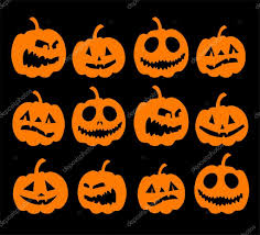 free halloween orange background pumpkin halloween night background pumpkins u2014 stock vector kudryashka