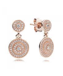 gold earrings uk cheap pandora gold earrings sale outlet pandora radiant