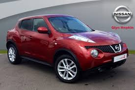 red nissan car used nissan juke red for sale motors co uk