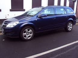 vauxhall astra estate 2007 1 3 cdti diesel navy metallic blue