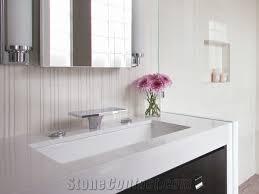 Bathroom Vanities Tops by Crystallized Glass Stone Vanity Top Artificial Marble Bathroom