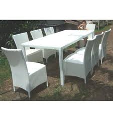 white wicker kitchen table china wicker dining table and chair pe rattan and coated iron tube