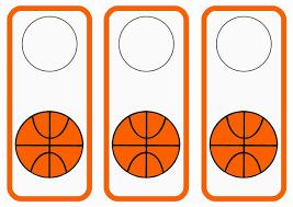 basketball door hangers u2013 birthday printable