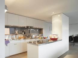 cuisine ouverte sur s our beautiful modele de salon en u gallery amazing house design