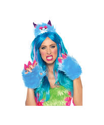 pink monster halloween costume scary barry monster halloween costume kit