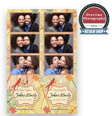 overtime photo booth templates autumn wedding strips template