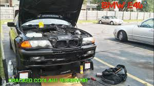 coolant for bmw 3 series bmw e46 coolant reservoir replacement
