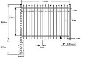 ornamental fence anping county xinqinye wire mesh fence factory