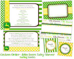 Baby Shower Invitations And Thank You Cards John Deere Baby Shower Invitations U2013 Gangcraft Net