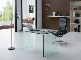 Modern Glass Office Desks Office Furniture Place Modern Glass Desks New York Inside Desk