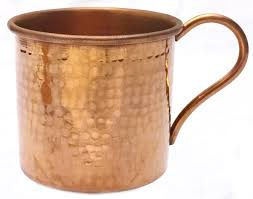 moscow mule mugs solid copper moscow mule mug hammered polished