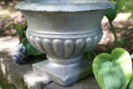 how to paint concrete planters hunker