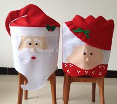 santa chair covers wholesale mr mrs santa claus christmas kitchen chair covers