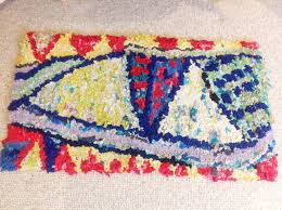 Fabric Rug Ragged Life Blog Rag Rug Of The Month Lizzie Reakes Design