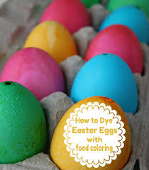 easter egg dye kits how to dye eggs with food coloring easter egg and rock