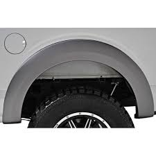 charcoal grey jeep rubicon f 150 fender flare with led marker lights black raptor style set