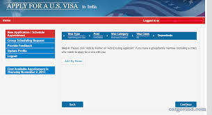 how to apply us visa stamping interview in india h1b and h4