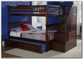 Bunk Beds With Stairs Cool Full Over Full Bunk Beds With Trundle And Stairs 68 For