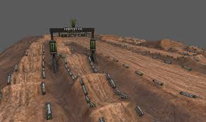 3d motocross racing games motocross track 3d model cgtrader