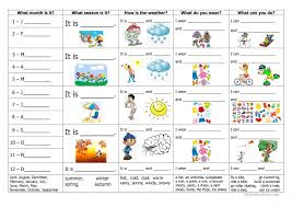 114 free esl weather worksheets for kindergartners and nursery