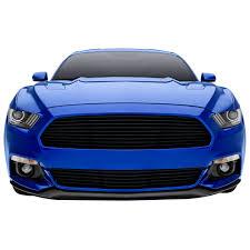 2015 Mustang V6 Black T Rex 6215301 Mustang Upper Grille Laser Billet Black 2015 2017