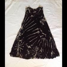 handmade from thailand tie dye short dress trapeze dress from